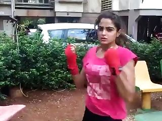 Ultra-cute Desi Boxing 1 Non Nude