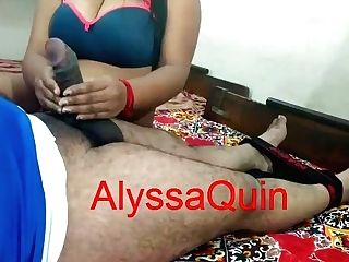 Alyssaquin - Homemade Indian Fuck-a-thon Of Inexperienced Duo Rajesh & Aarti