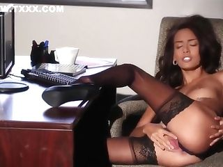 Sultry Assistant Fantasy With Janice Griffith